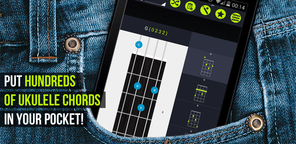 Android App Pocket Ukulele Chords