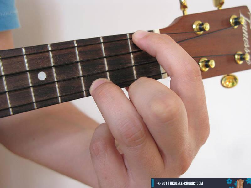 Abaug Ukulele chord