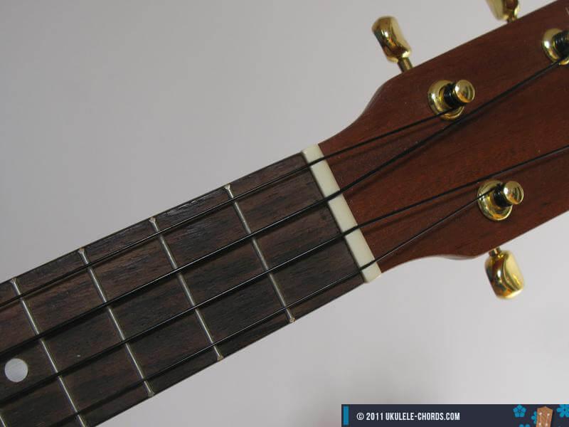 Am7# Ukulele chord