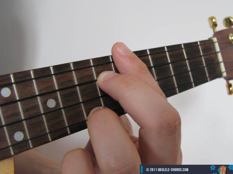 Fm6 Ukulele Chord Position 3 Baritone