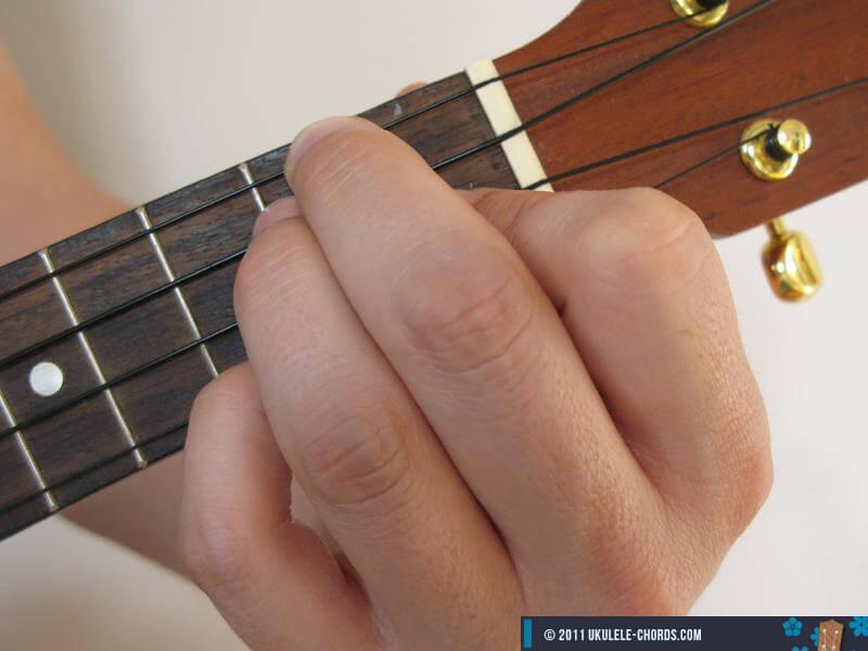 C6 Ukulele chord