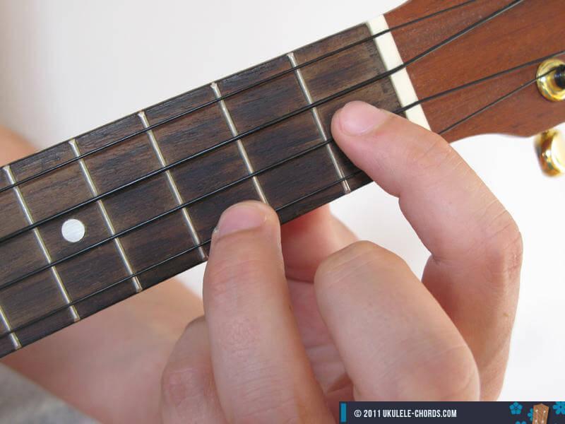 Csus2 Ukulele Chord Baritone