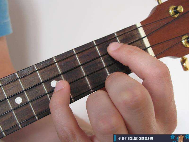 Gadd9 Ukulele Chord