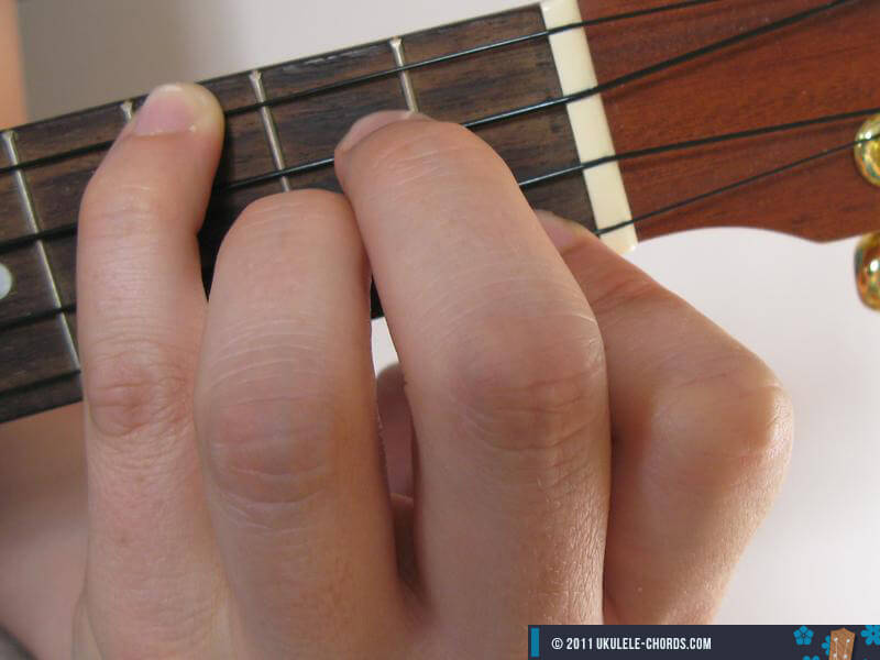 Gbaug Ukulele chord