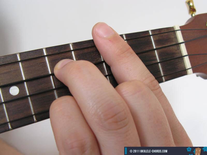Dmc Slashed Ukulele Chord Baritone