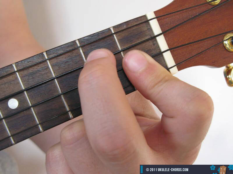 Am7 Ukulele Chord D Tuning